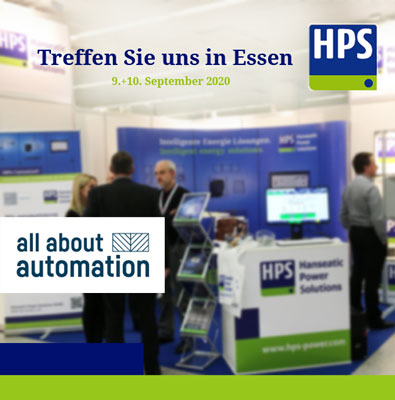 HPS - Messeankündigung All About Automation